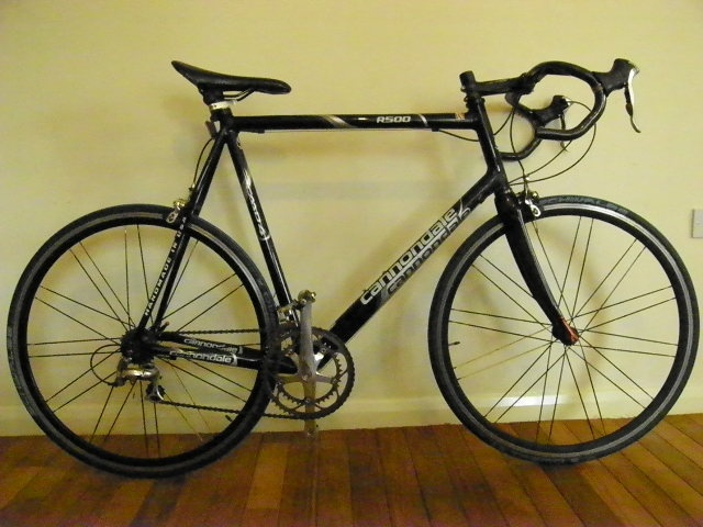 Cannondale R500 Caad4 Mens Road Bike 63cm For Sale