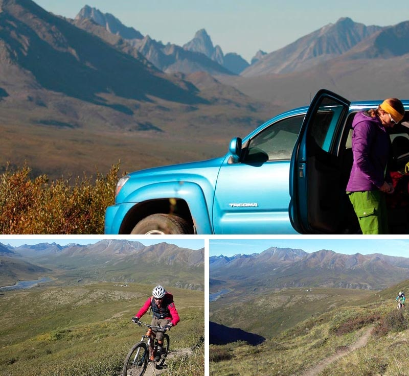 Day 2 of our trip. A short but sweet ride on the Goldensides trail just North of the Tombstones campground on the Dempster Highway