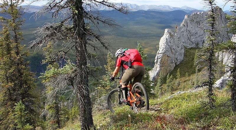 Day 3 of our trip. Sapper Hill - a hike-a-bike and an old-school technical descent. Euros who can hop turn will love this trail. I loved this trail so I guess I m an Euro