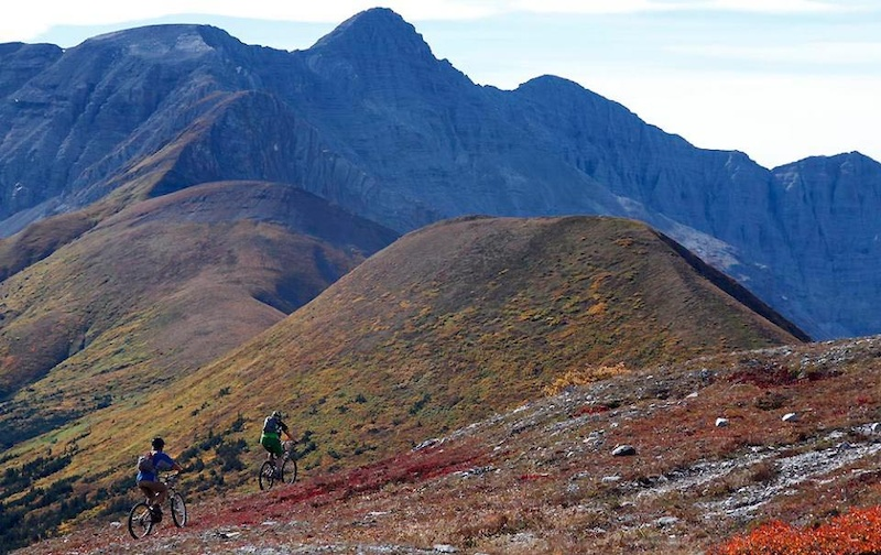 On the last half of a 9000km road trip all the way from Vancouver to the Northern Yukon and back to Vancouver we visited Tyler in Northern BC. Taken at Nonda Ridge - we rode the 3 ridgelines as an out and back