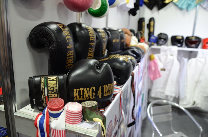 Need boxing gloves This booth will get you sorted out