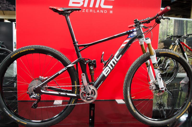 BMC bike on display