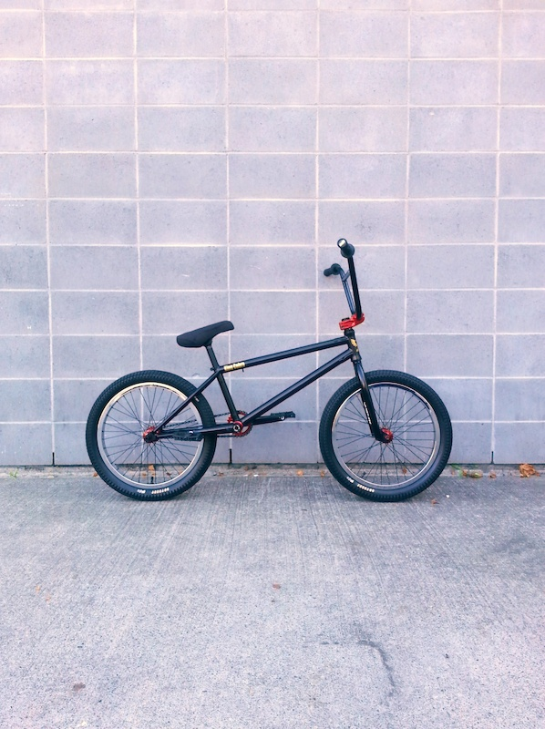 Solid King Cobra Profile Hubs Cranks new Columns rin and stem Tree bar Odyssey rims and tires Mutiny saddle. 21 TT 23 lbs