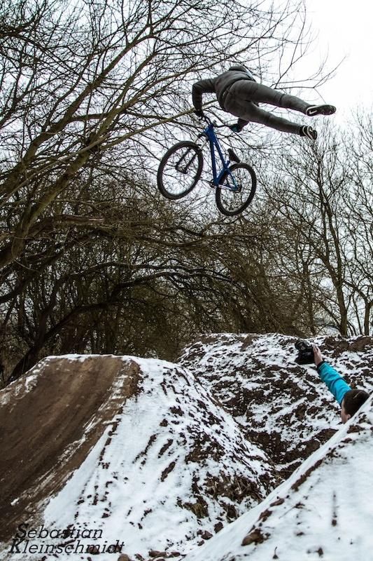 Can Can Whip in the Snow! Photo:Sebastian Kleinschmidt