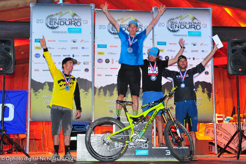 Pro Men for North American Enduro Tour. Chris Johnston Adam Craig Aaron Bradford Nate Hills Jeremy Horgan-Kobelski.