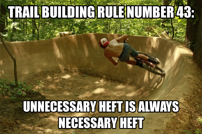 Heft is always necessary