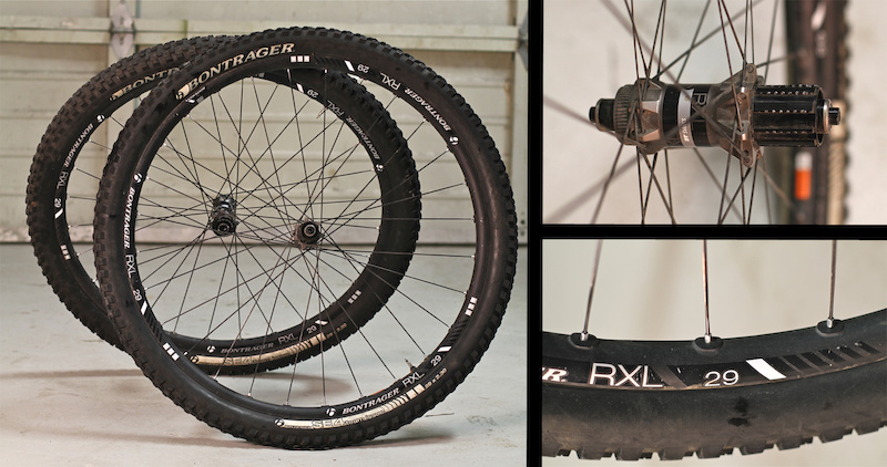 Bontrager RXL wheels