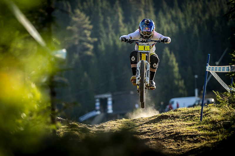Rachel Atherton at the 2013 UCI MTB World Championships Hafjell Norway. Photo by Sven Martin for Atherton Racing.