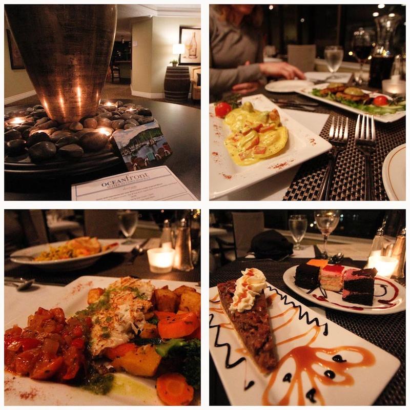 Oceanfront Suites Dinner
