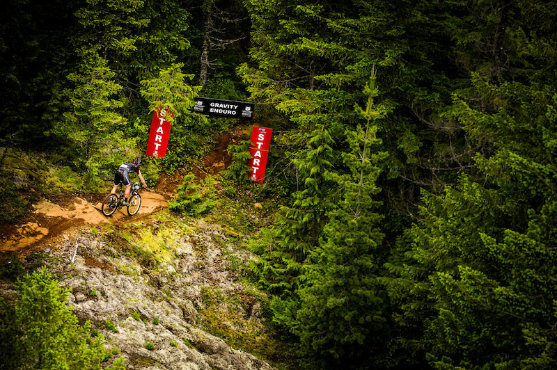 The Enduro special segments are a highlight to each day - 13 in total over the week give riders a different set of bragging rights. photo Dave Silver