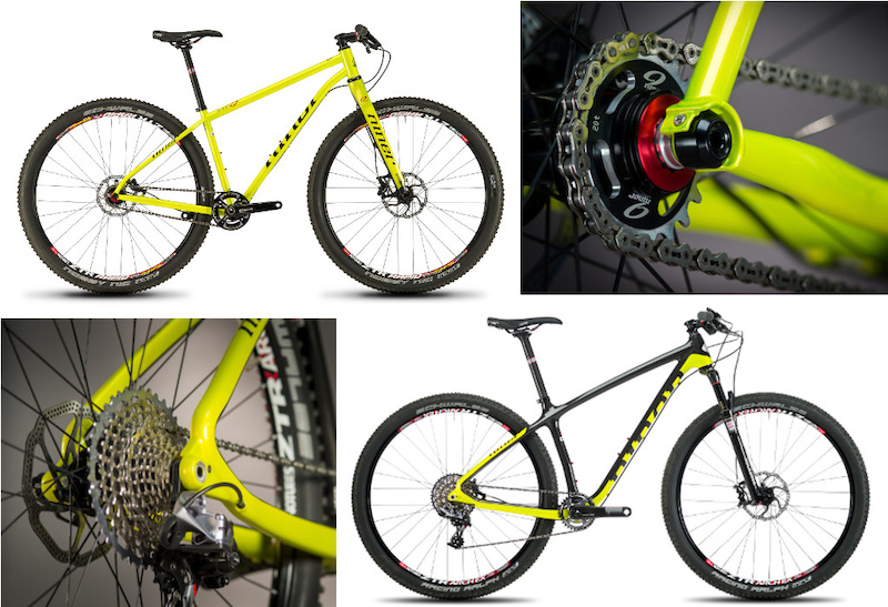 Two Niner Hardtails - No shocks, No Front Derailleurs Required ...