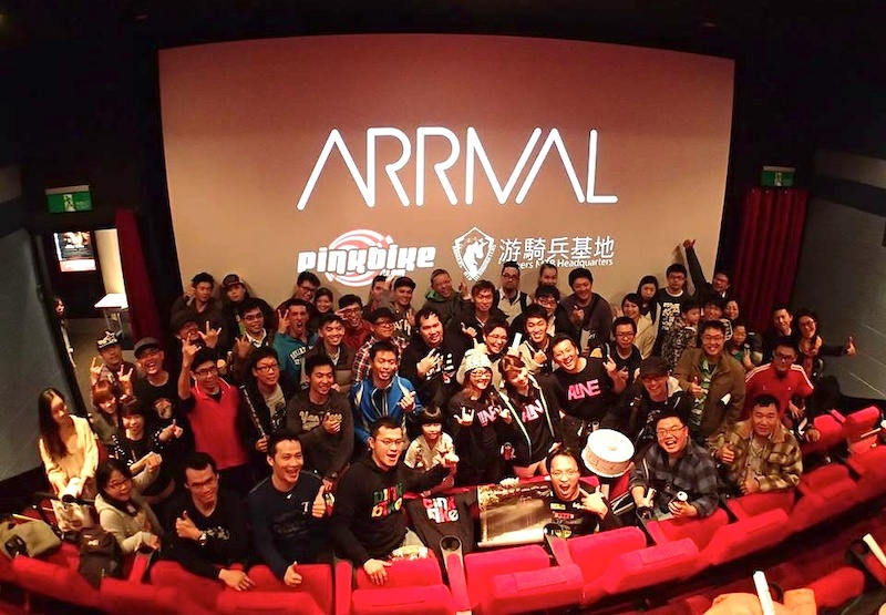 ARRIVAL world primiere Taipei stage