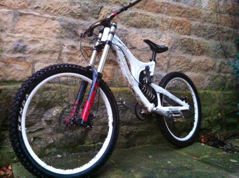 My new dh bike second hand