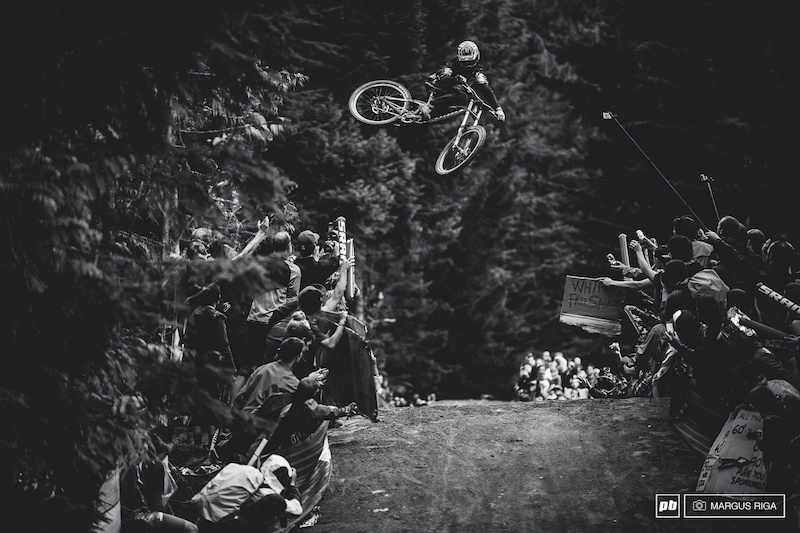 Aggy at this years Crankworx whip off world championships. Aggy is a rider I ve never had the pleasure of working with but I hope to change that next year. Get well soon buddy.
