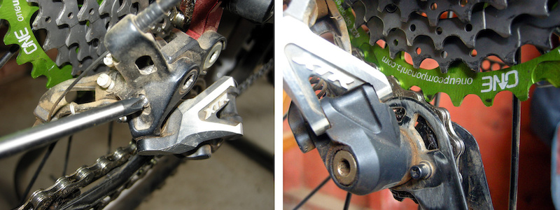 Oneup Components 42 tooth cog test review B tension adjustment