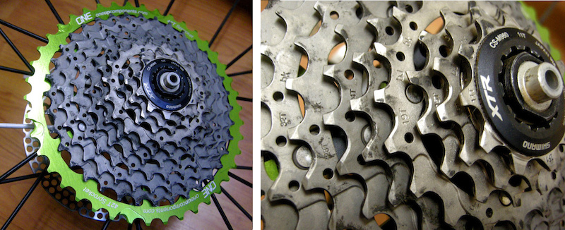 Oneup Components 42 tooth cog test review 11 by 42 ten-speed cassette
