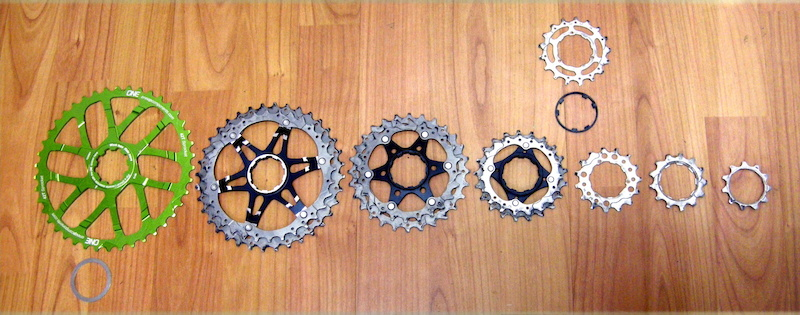 Oneup Components 42 tooth cog test review cogs in order