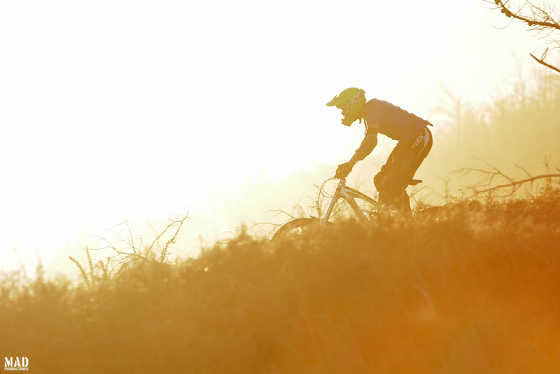 Golden hour magic with the MAD rider, Pedro 'Pulga' Silva ! Have a good year 2014 !