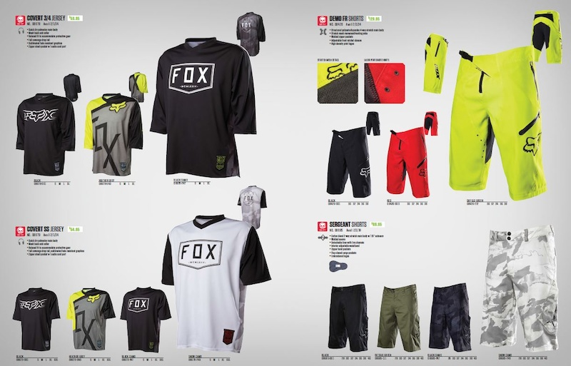 Fox Head Launches 2014 Bike Clothing Range - Pinkbike 0da25b9cd