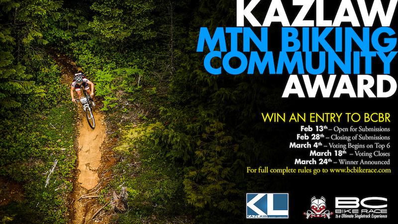 KazLaw Community Mountain Bike Award
