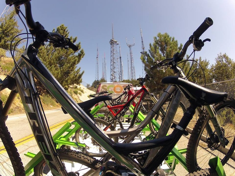 Mt Wilson tops out a 5700' about 5000' above the city floor.  Rides are 8-14 miles long.