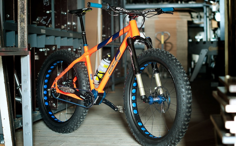 Nicolai Fatbike with Pinion gearbox transmission