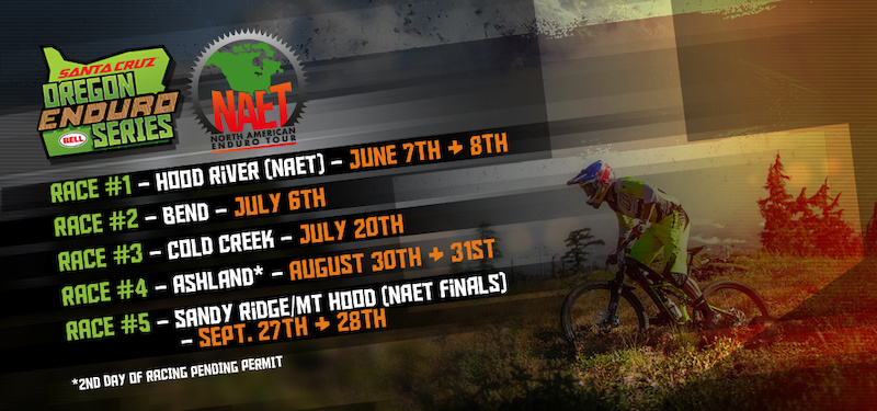 2014 Oregon Enduro Schedule