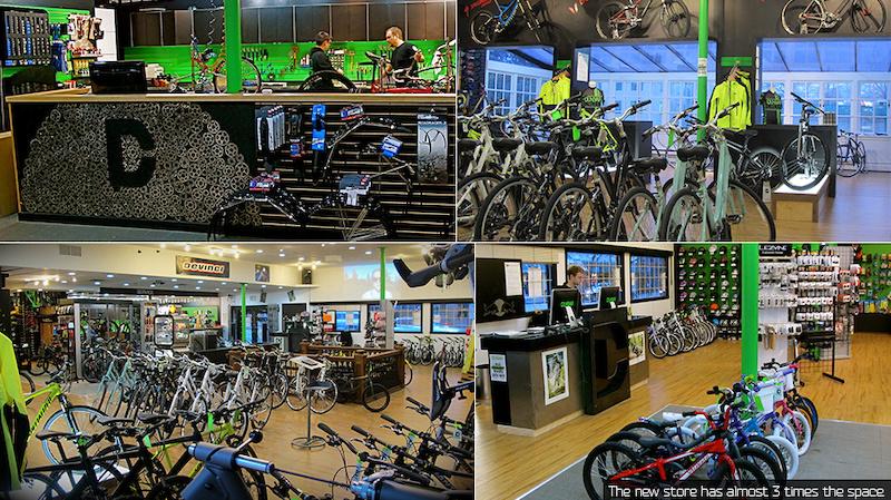 Pics of the new shop.