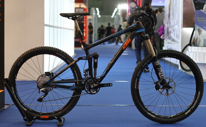 first look: ktm, maxxis, polygon - taipei show 2014 - pinkbike