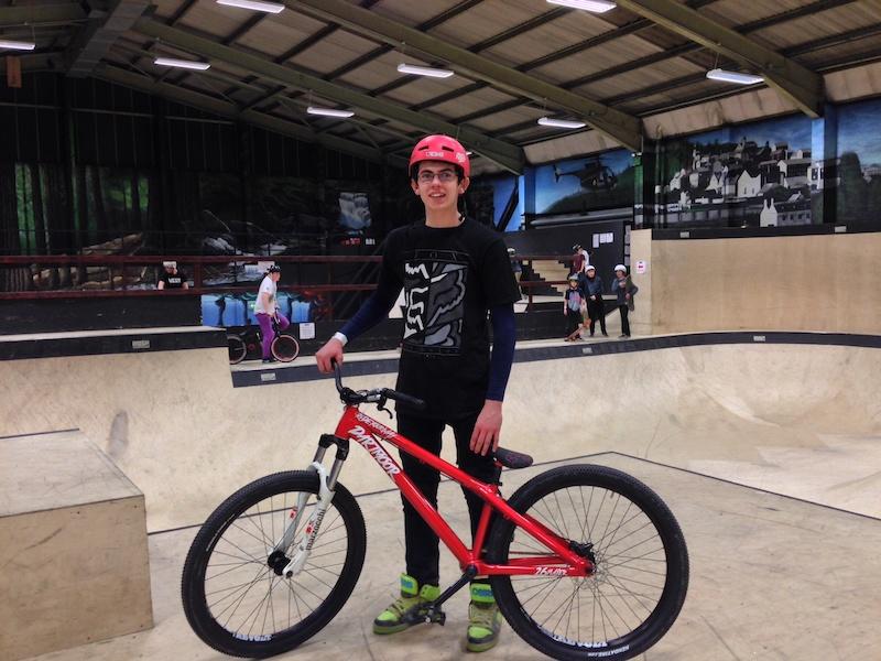 2014 Dartmoor Slam 69 X fusion rider