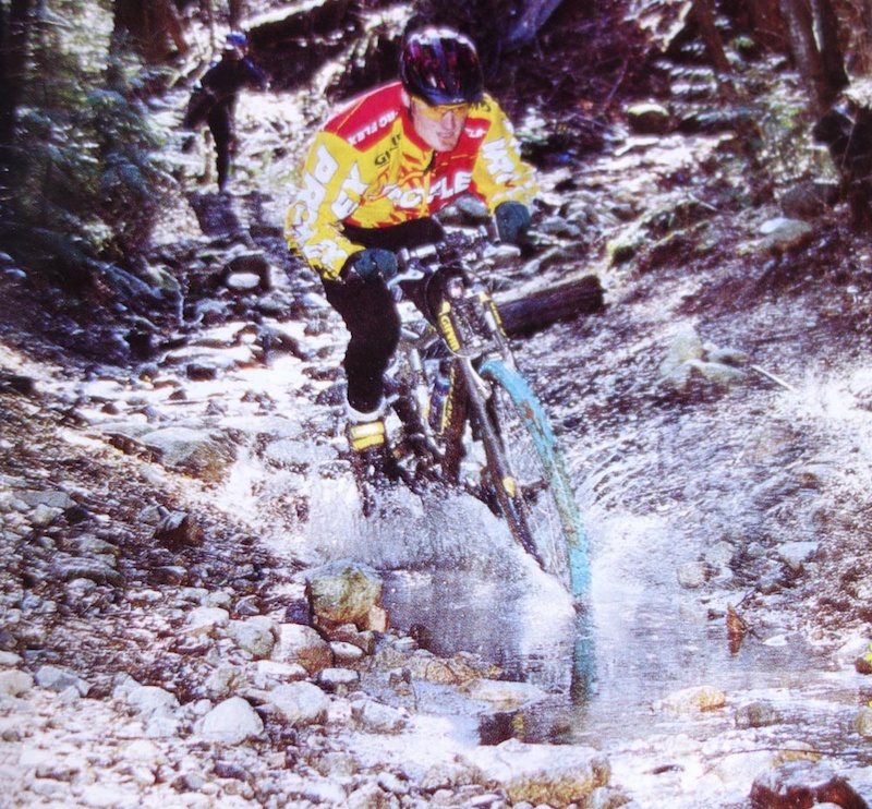 James Wilson - back in the day in the climbing gnar of Cypress. Check out the Proflex Original photo by Ian Hylands