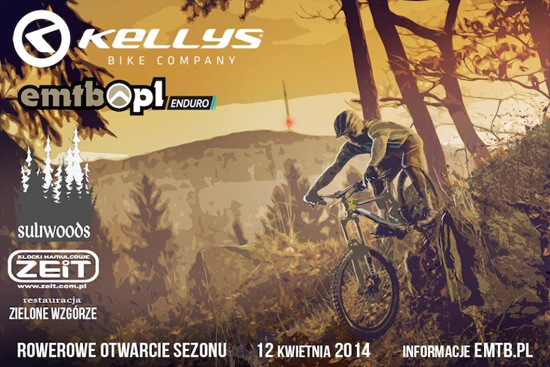We have pleasure to invite you on the Kellys bike season opener on 12th of april in Sulistrowiczki Poland. More info on emtb.pl EMTB Enduro Race Kellys Demo Day PumpTrack Session with Piotr Szwedowski Kids race and more