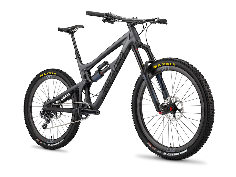 santa cruz nomad black
