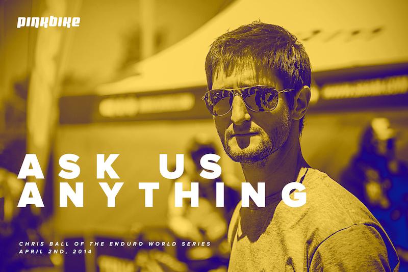 Ask us Anything - Chris Ball logo