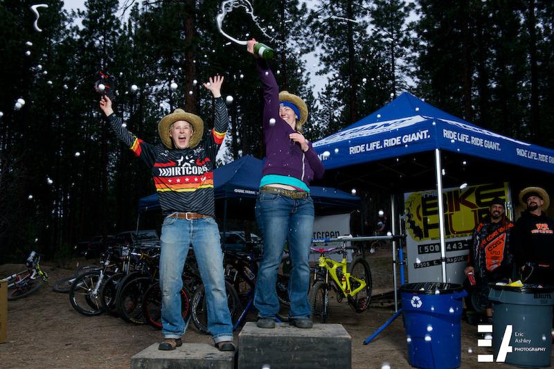 Double Down Hoe Down 6 Hub-A-Palooza weekend Saturday s race at Camp Sekani in Spokane WA.