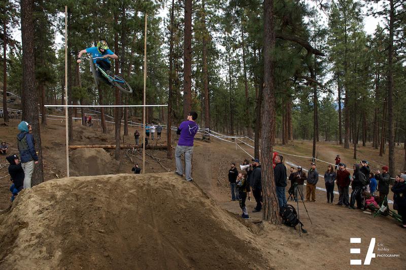 High jump contest.