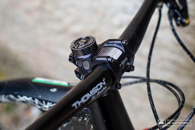 Purple Hope AM Mountain Bike Stem 0 Deg 35mm Clamp