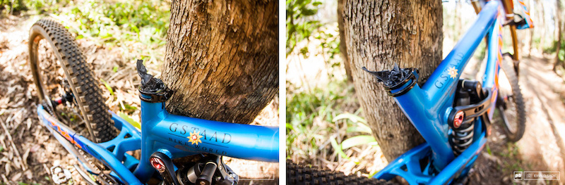 2014 UCI World Cup - Patrick Thome s carbon seatpost explosion.