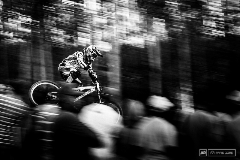 Sam Hill laying down some South African heat.