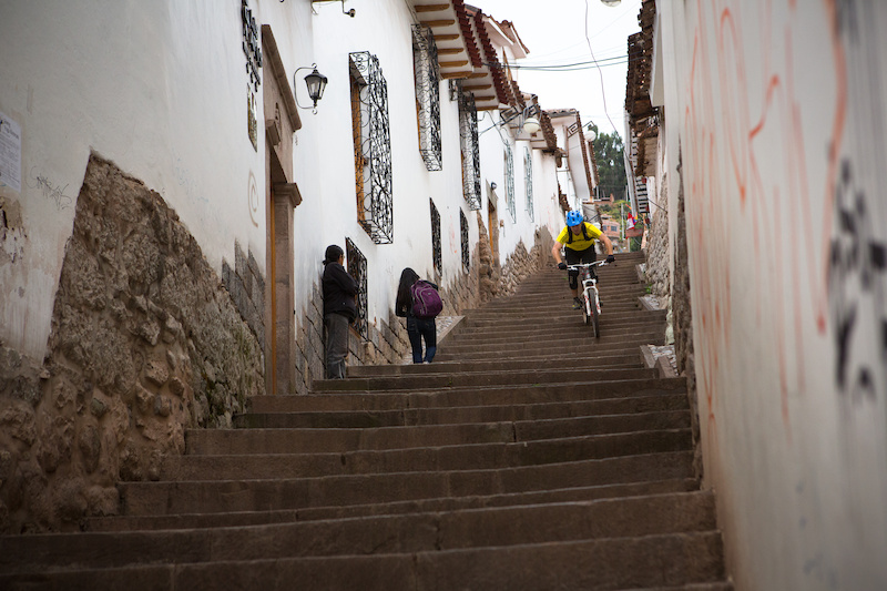 As we entered the city of Cuscu from the high mountains it quickly became an urban playground. 11