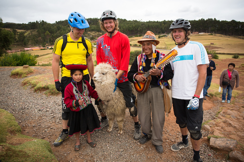 We couldn t pass up the chance for a photo opp with some of the locals. 10