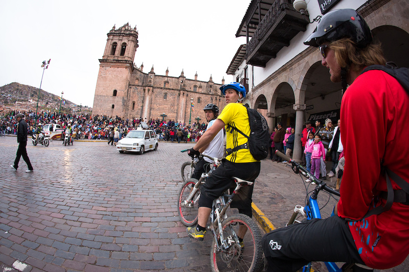 From the highest peak in Cusco right down to the city center for all the festivities. 14