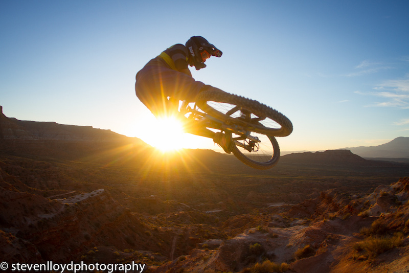 Sunset hip session with Kc Deane at the Rampage site.