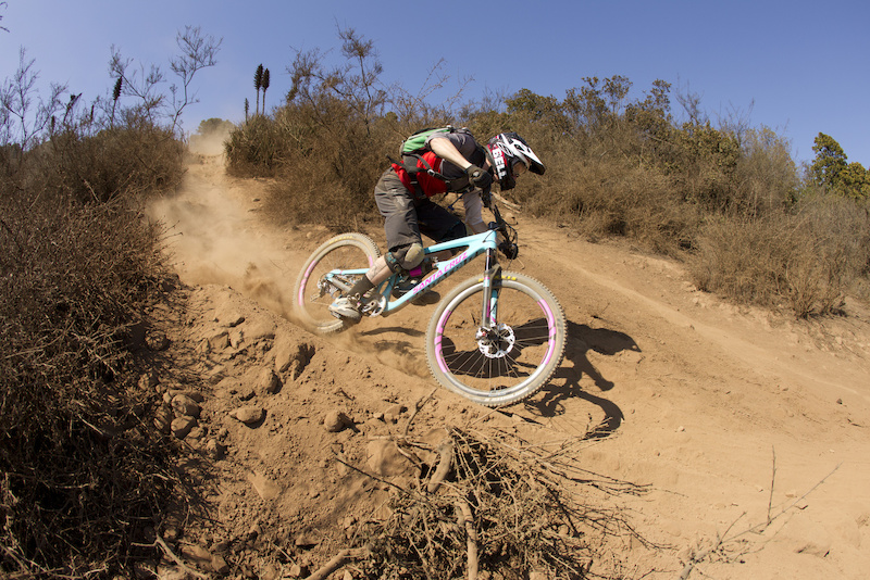 CHILE - 17 April 2014 - during the 2014 Santa Cruz Bicycles Nomad press launch. Photo by Santa Cruz Bicycles Gary Perkin