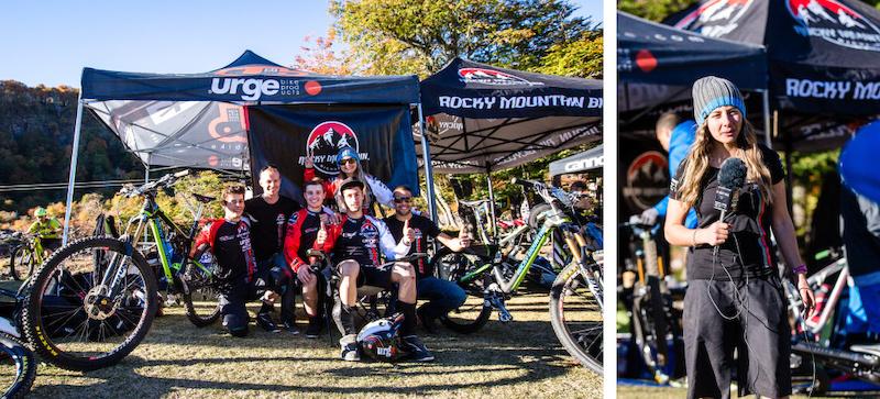 Rocky Urge BP Rally team