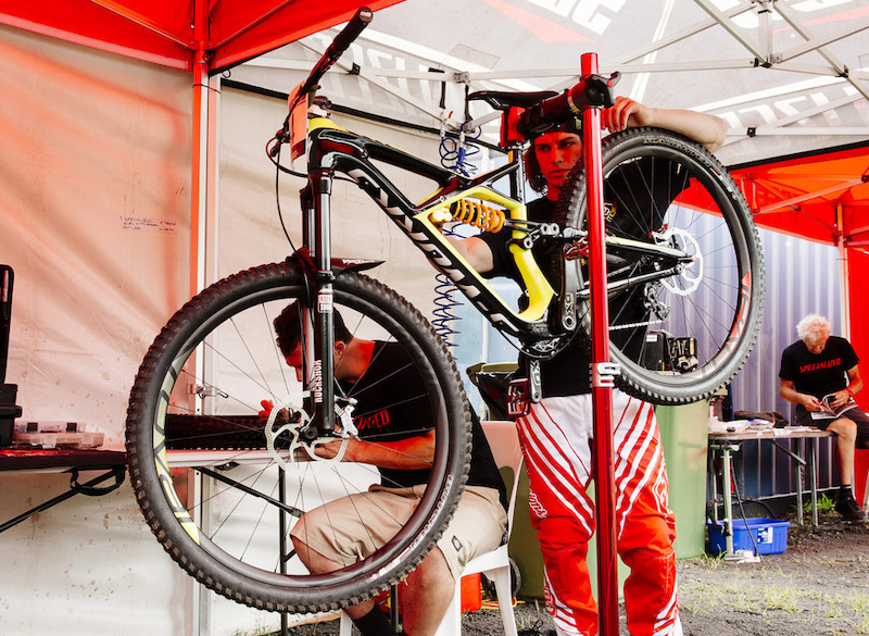 Mitch Ropelato Specialized Enduro S-Works Carbon DH bike 2014