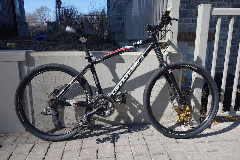 2009 Cannondale F4 Caffeine For Sale