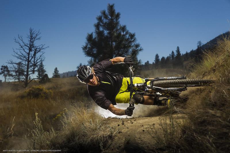 Matt Hunter enjoying bicycle riding.
