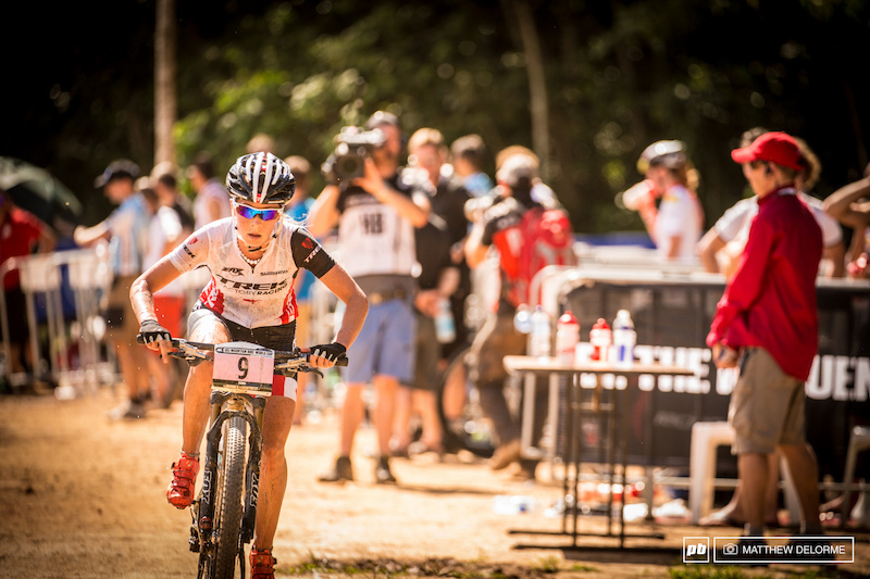 Emily in Cairns as WC XC 2 2014