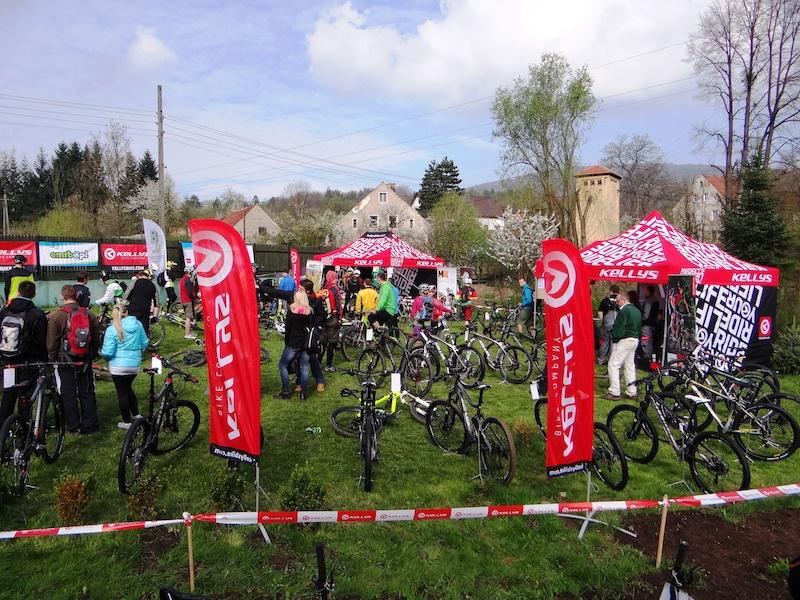 Kellys Bike Demo Day during 2014 Season Opener and EMTB Enduro Race